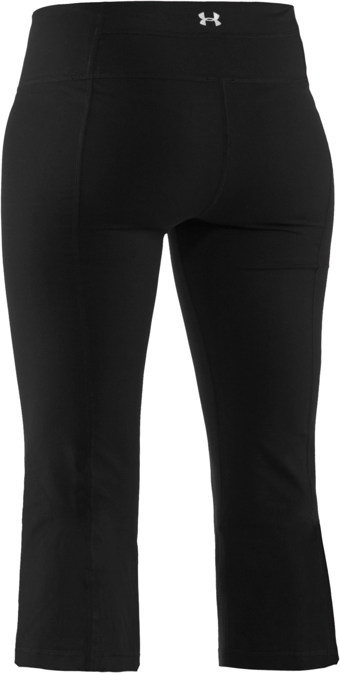 Women's UA Perfect Shape Capri, Black , undefined