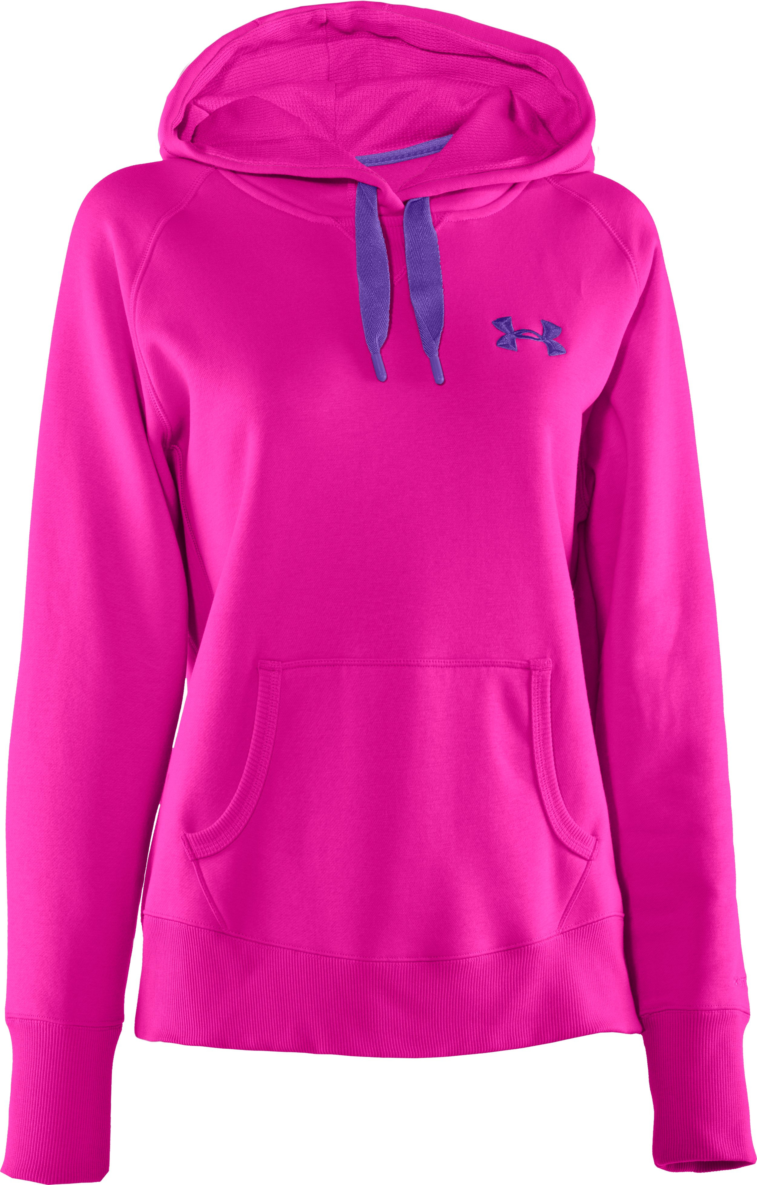 Women's Charged Cotton® Storm Hoodie, Tropic Pink