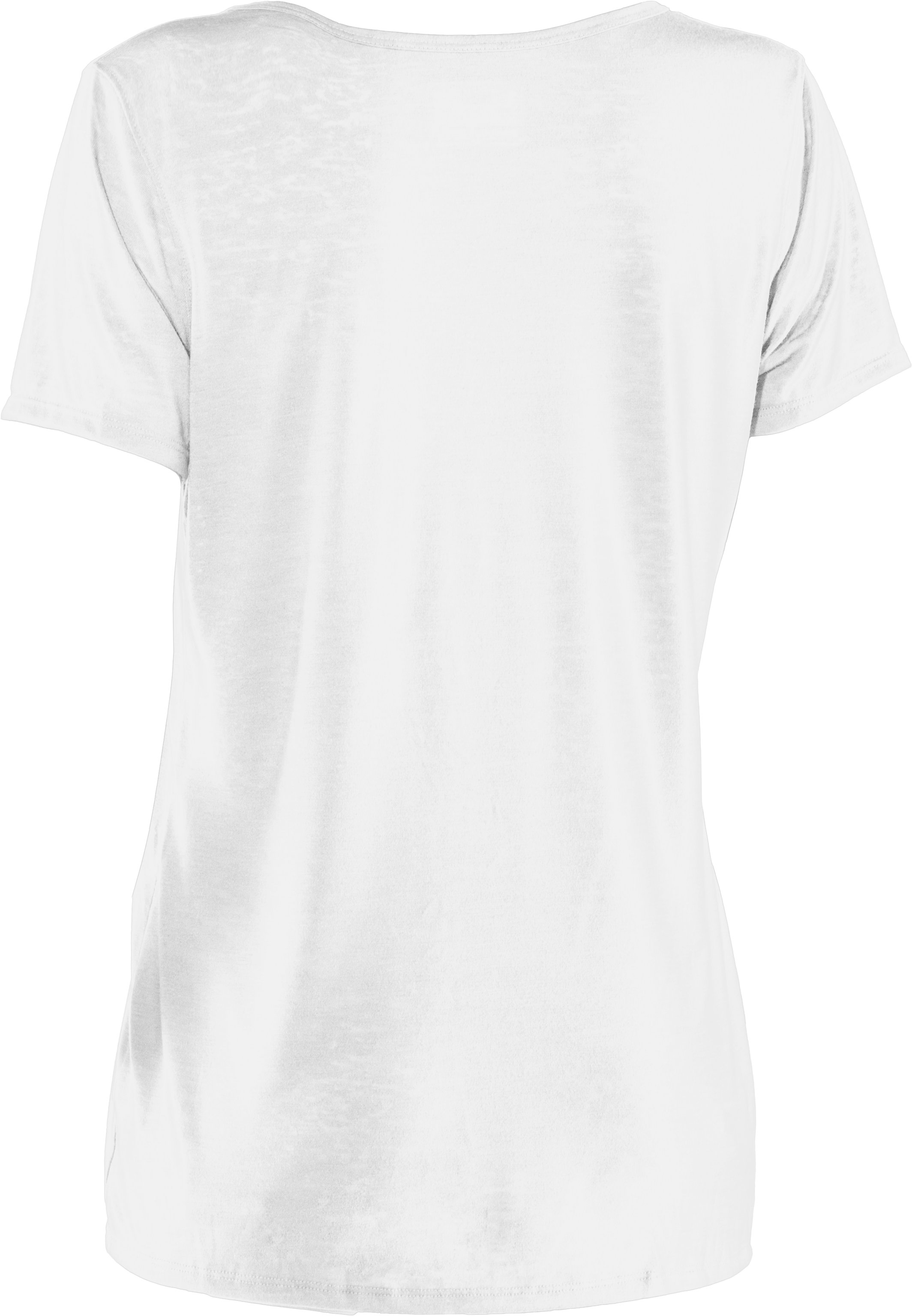Women's Achieve Burnout T-Shirt, White, undefined