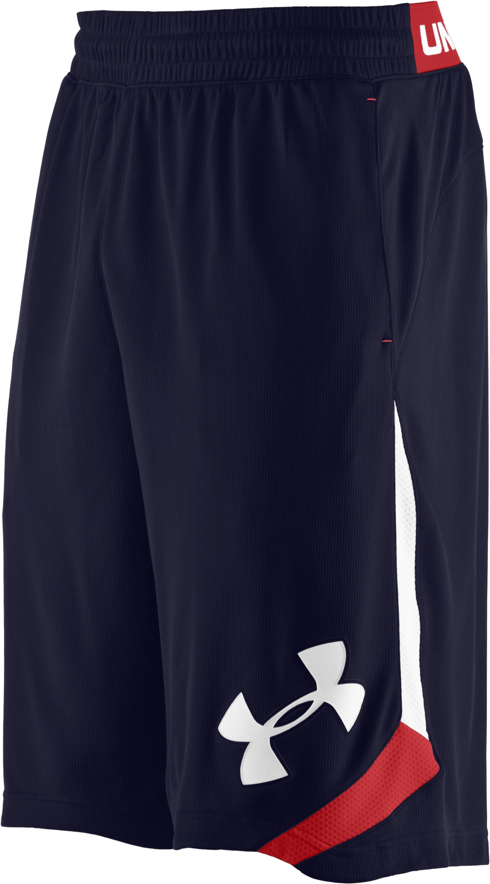 "Men's UA Blurkyrie 12"" Basketball Shorts, Midnight Navy"