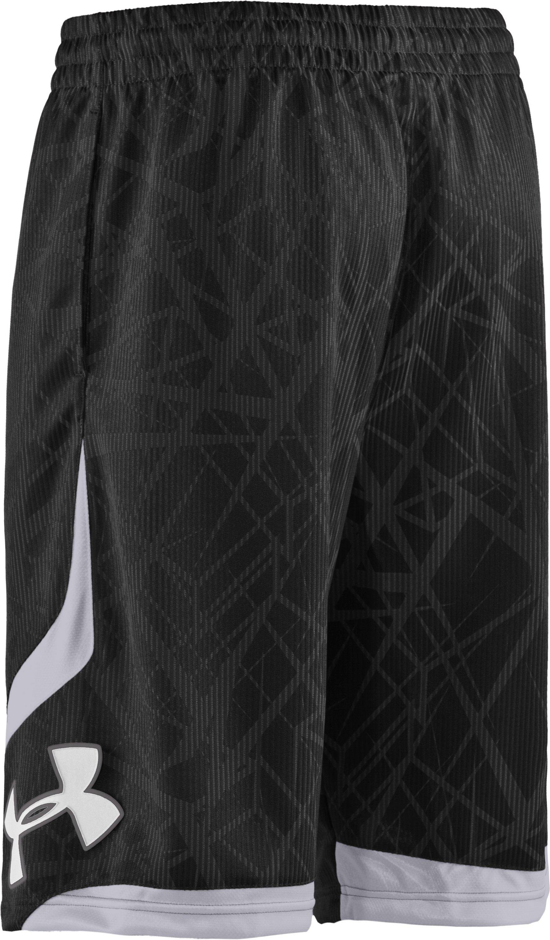 "Men's Printed UA Valkyrie 12"" Basketball Shorts, Black"