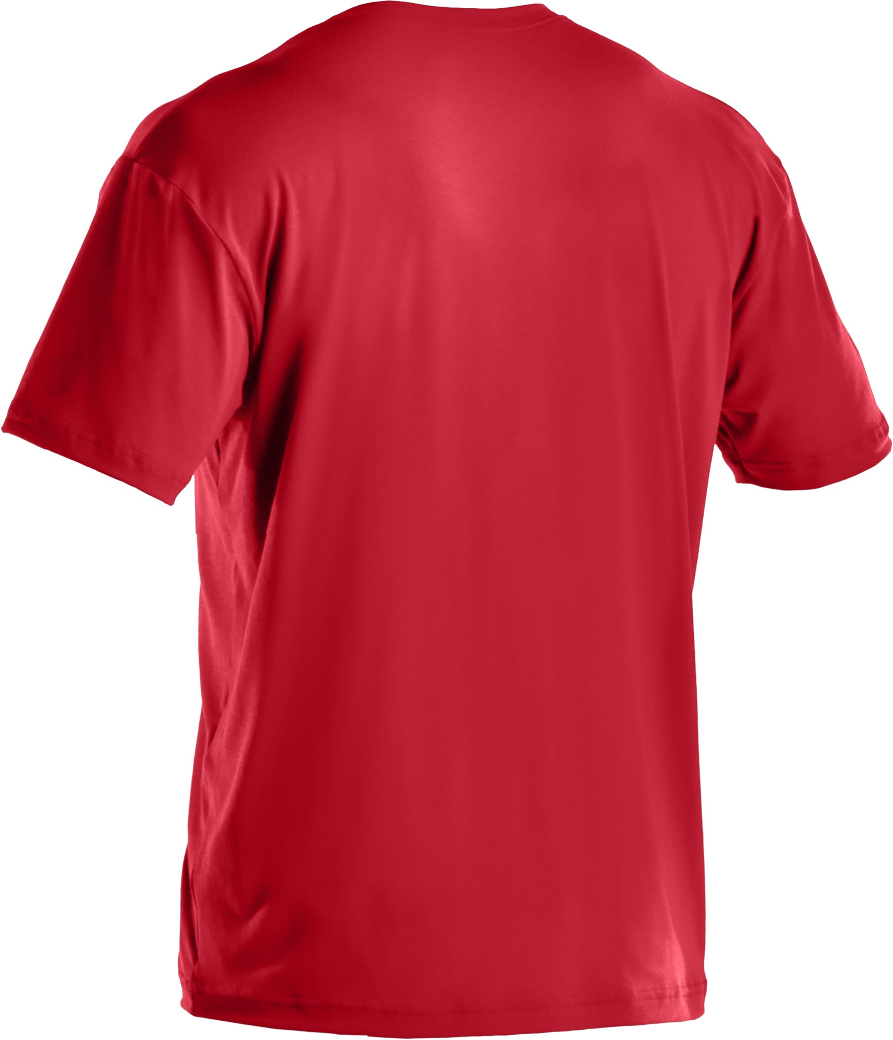 Men's UA Sportstyle Logo T-Shirt, Red
