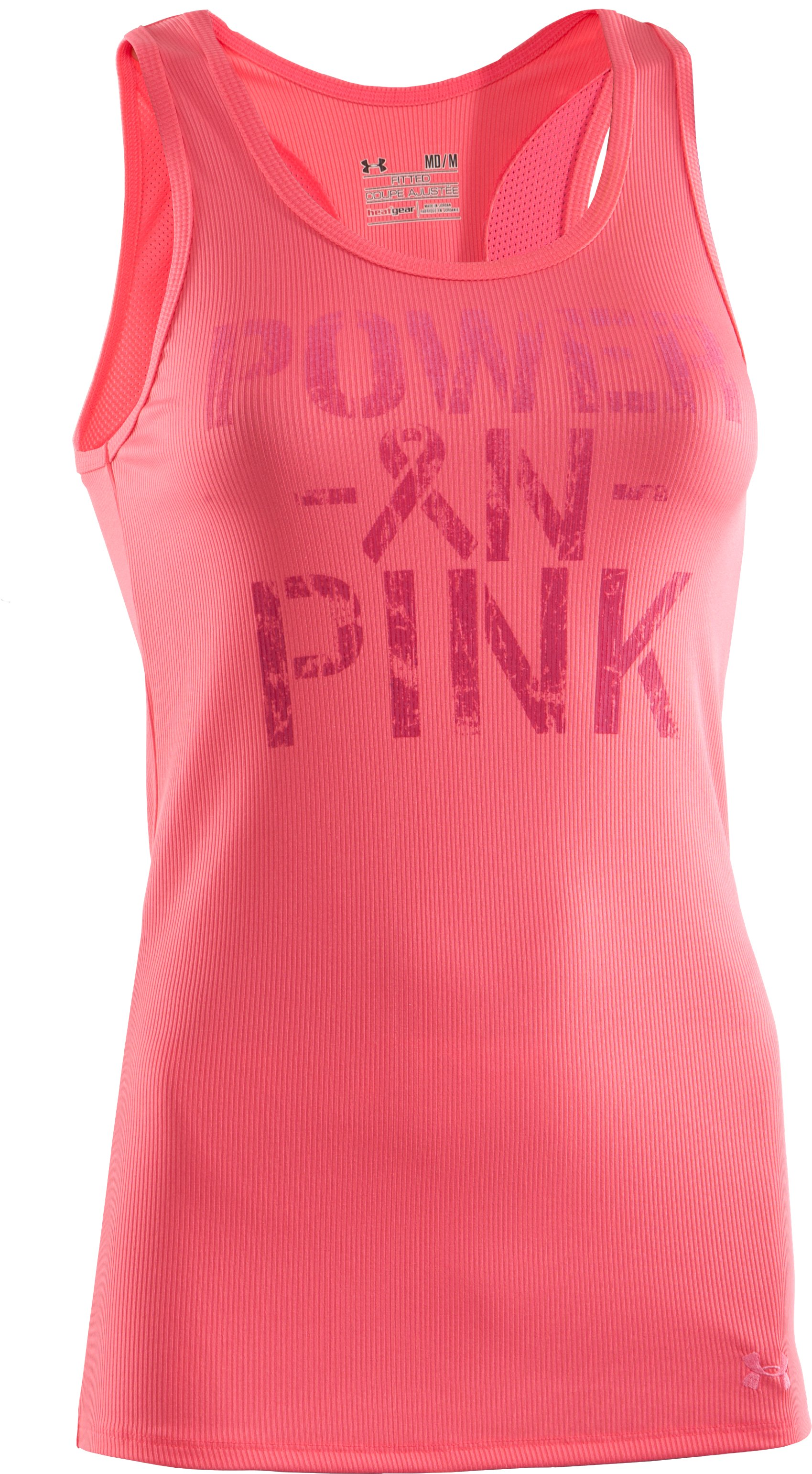 Women's UA PIP® Victory Tank, Cerise, undefined