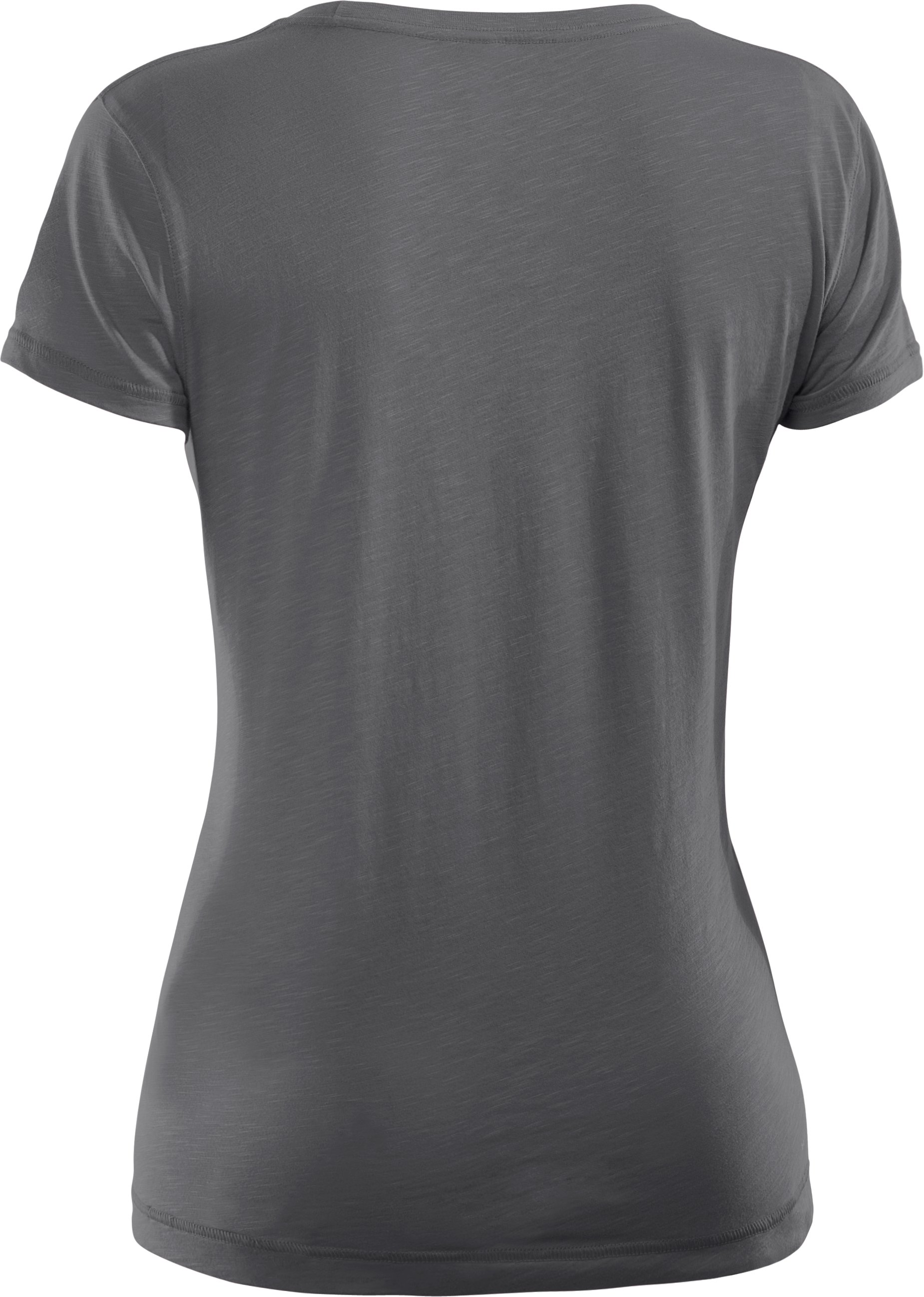 Women's Charged Cotton® Sassy Slub T-Shirt, Graphite