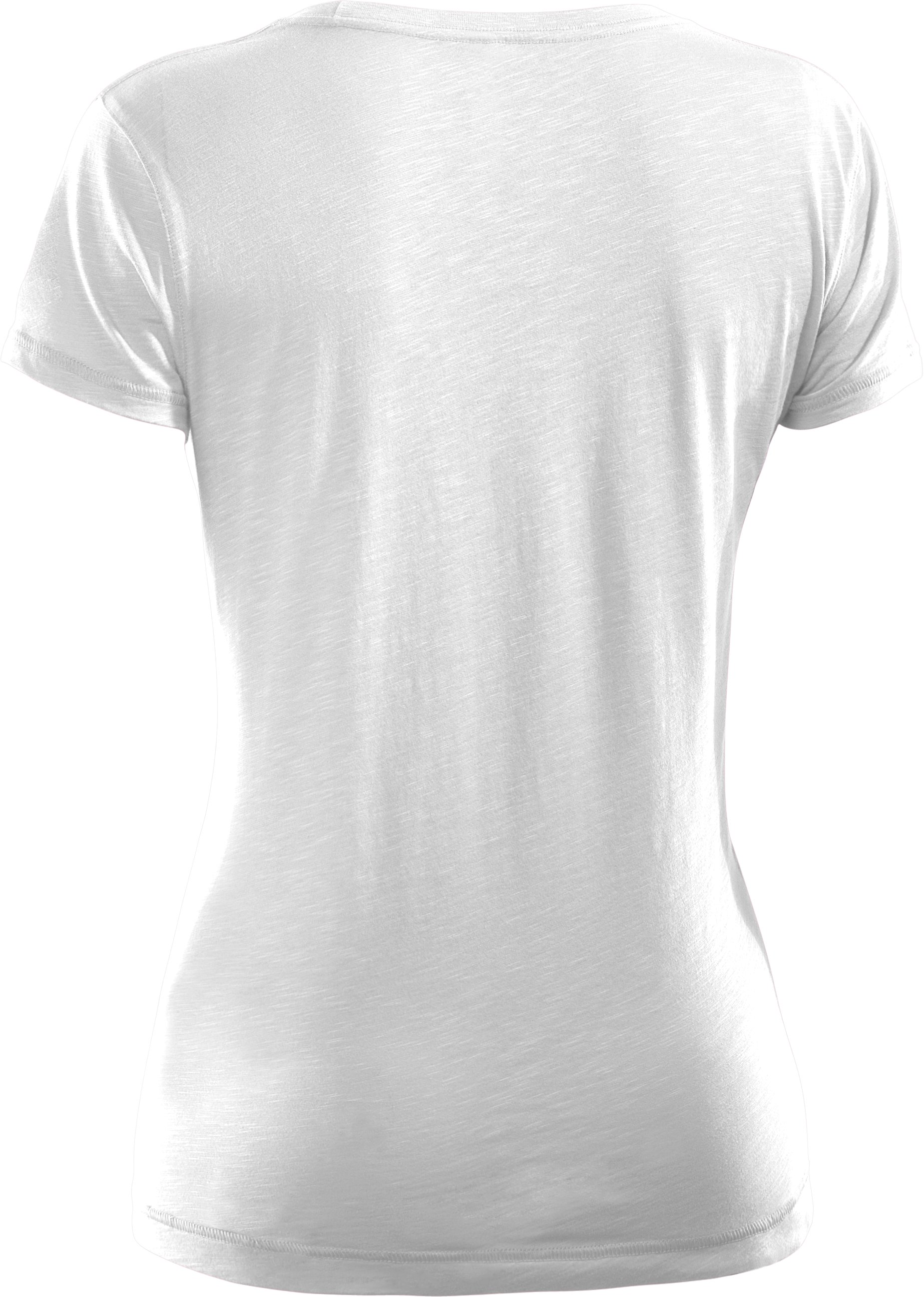 Women's Charged Cotton® Sassy Slub T-Shirt, White,