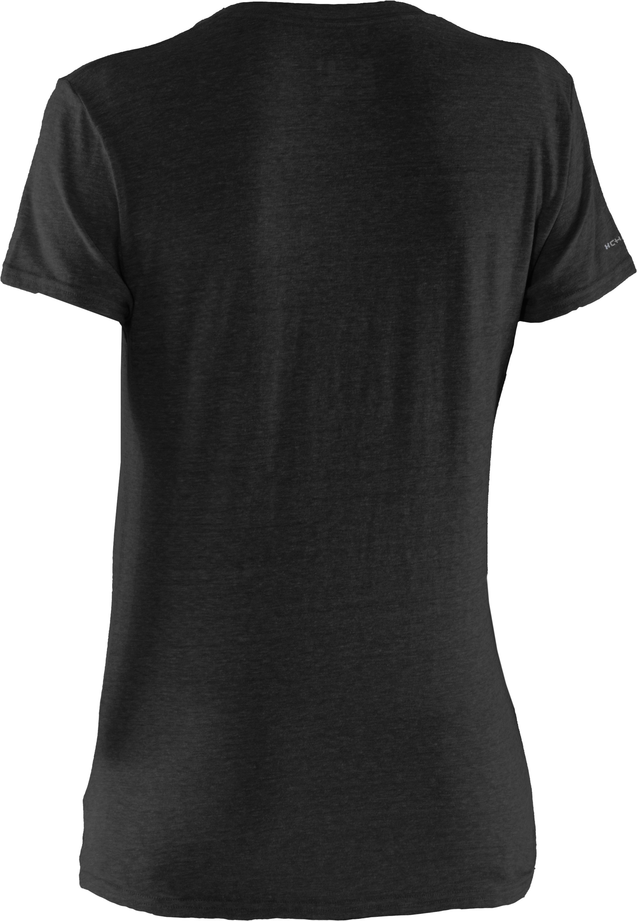 Women's Charged Cotton® Undeniable T-Shirt, Black , undefined