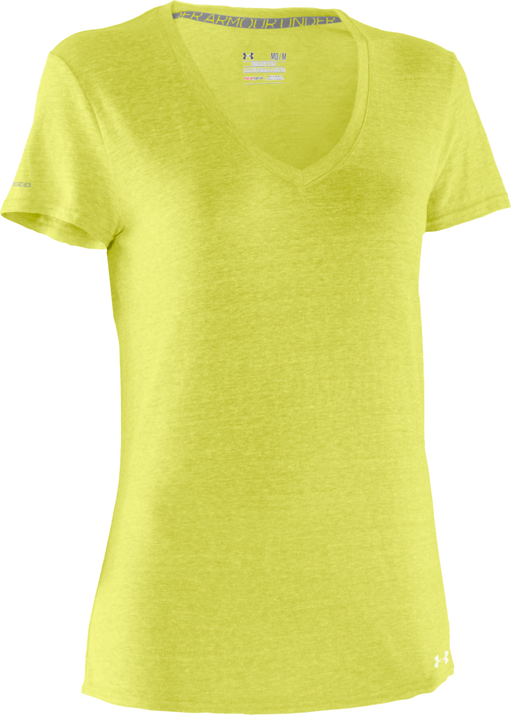 Women's Charged Cotton® Undeniable T-Shirt, High-Vis Yellow
