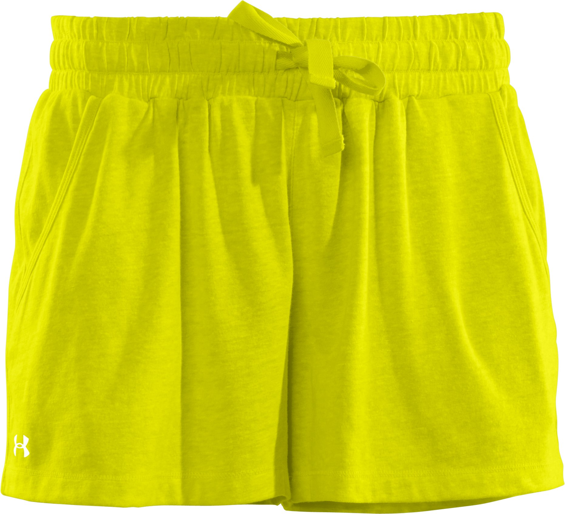 Women's Charged Cotton® Undeniable Shorts, High-Vis Yellow