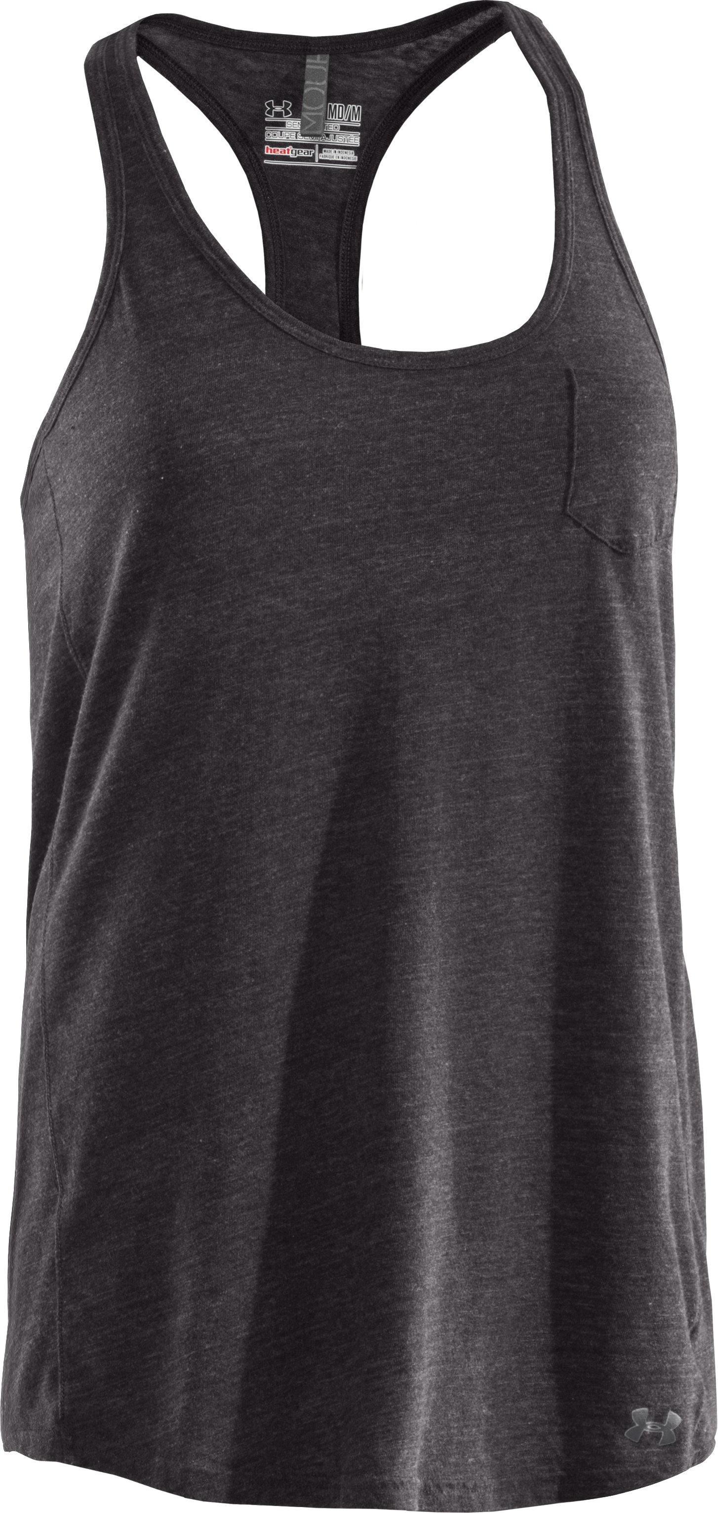 Women's Charged Cotton® Undeniable Tank, Charcoal