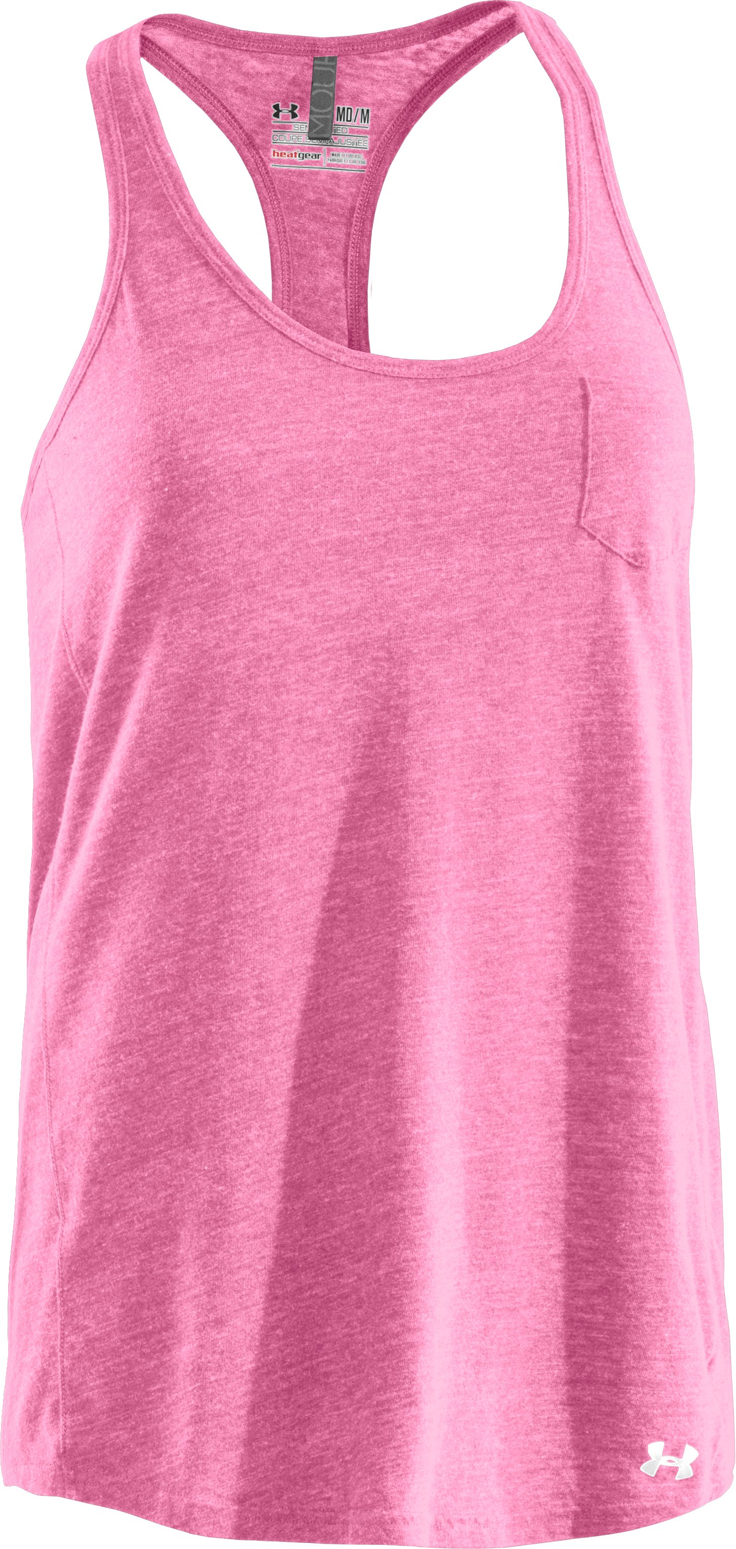 Women's Charged Cotton® Undeniable Tank, Fluo Pink