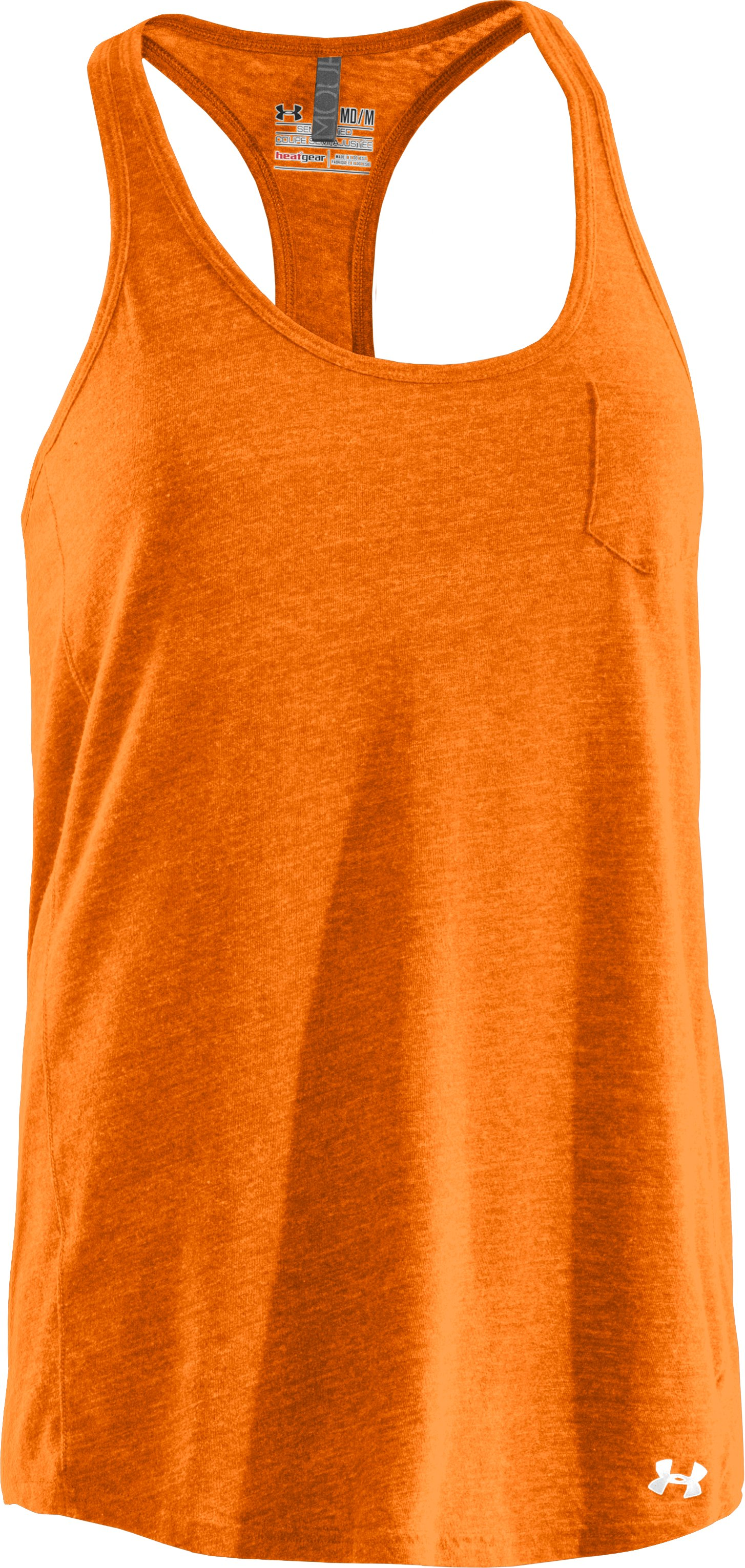 Women's Charged Cotton® Undeniable Tank, Blaze Orange