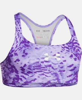 Girls' UA Dazzle Bra  1 Color $11.99