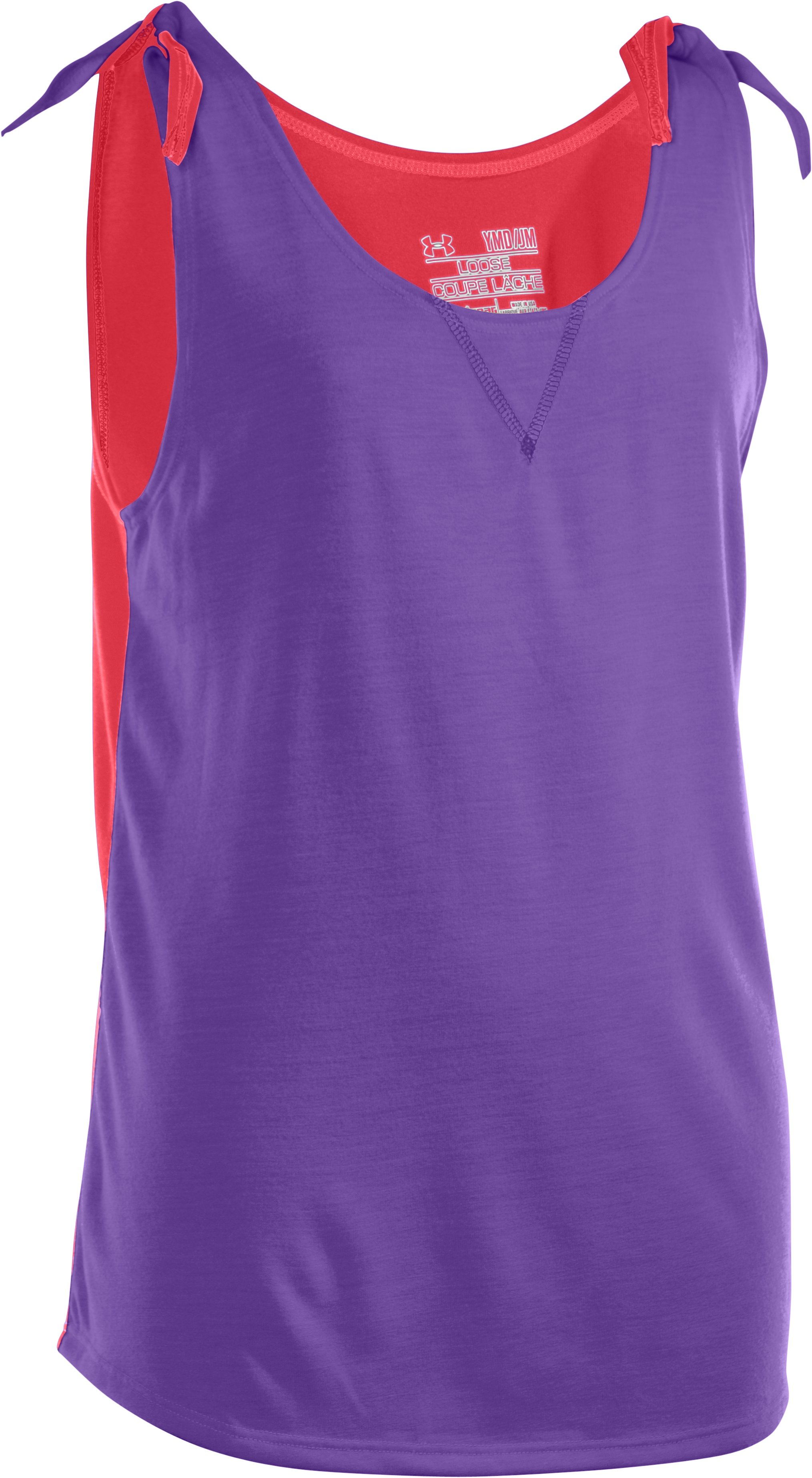 Girls' UA Up In Knots Tank, Power
