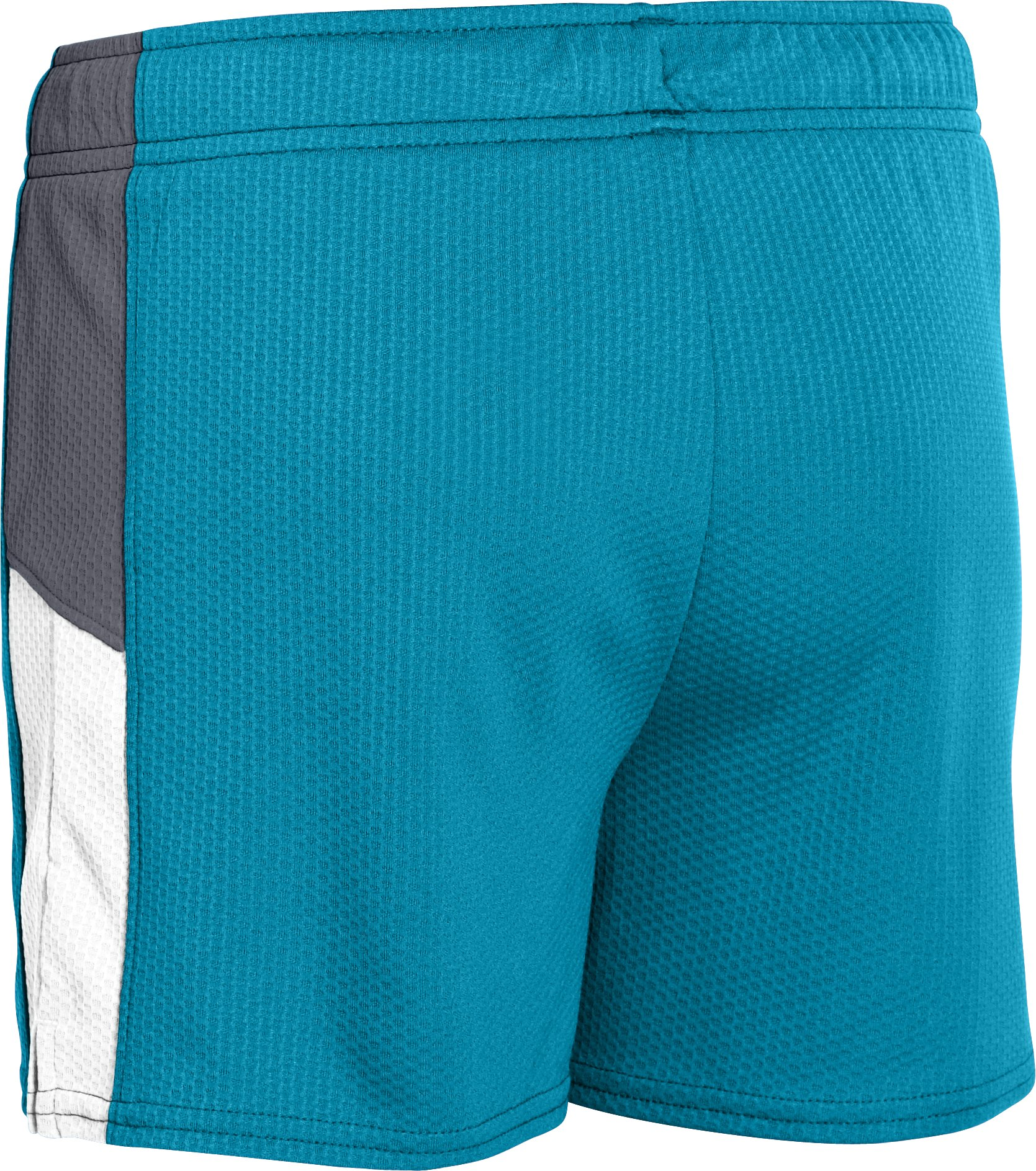"Girls' UA Intensity 3"" Shorts, TEAL ICE"