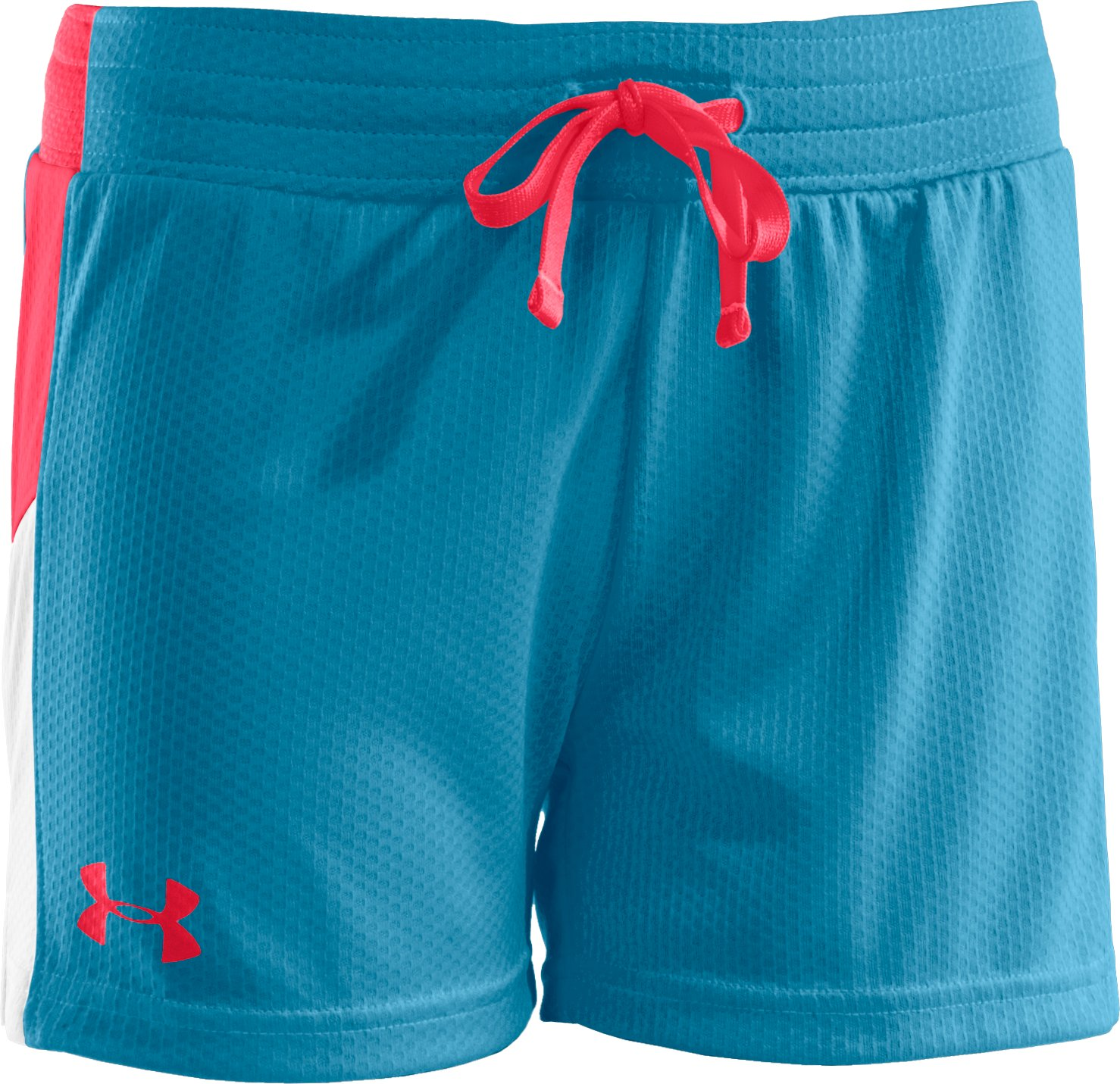"Girls' UA Intensity 3"" Shorts, Deceit, zoomed image"