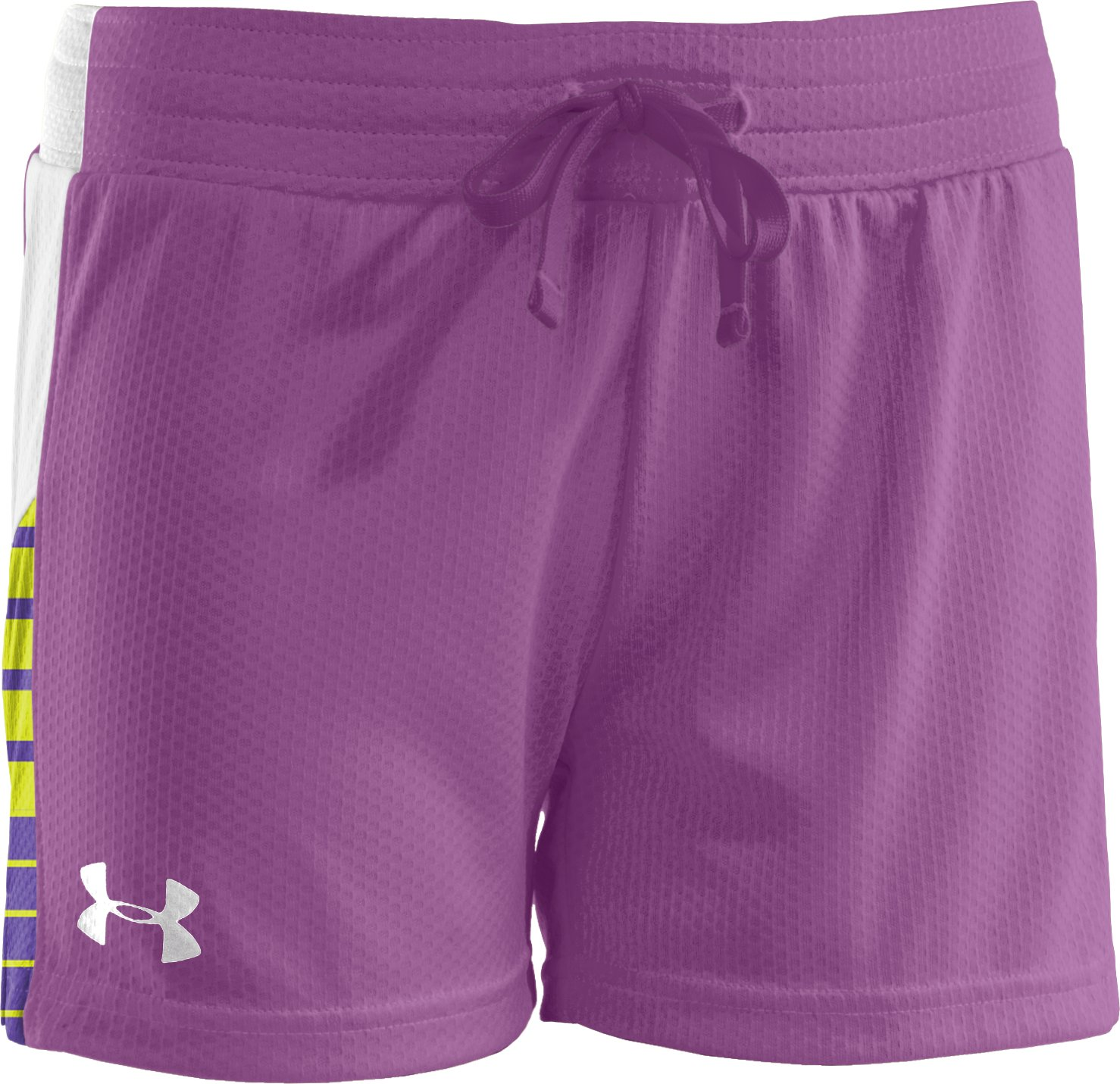 "Girls' UA Intensity 3"" Shorts, LAVISH"