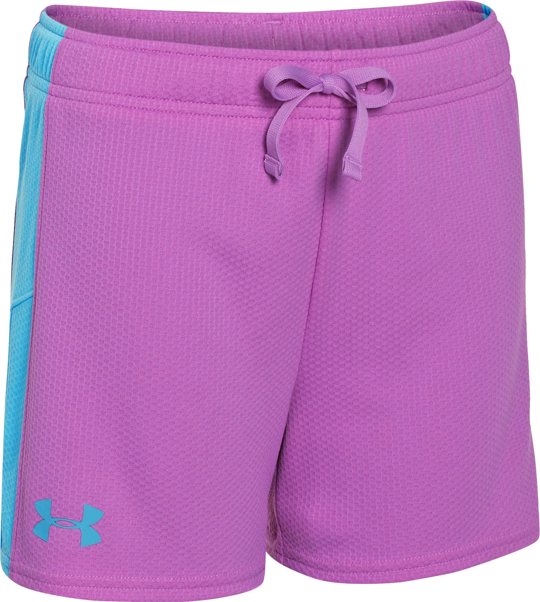 "Girls' UA Intensity 3"" Shorts, EXOTIC BLOOM, zoomed image"