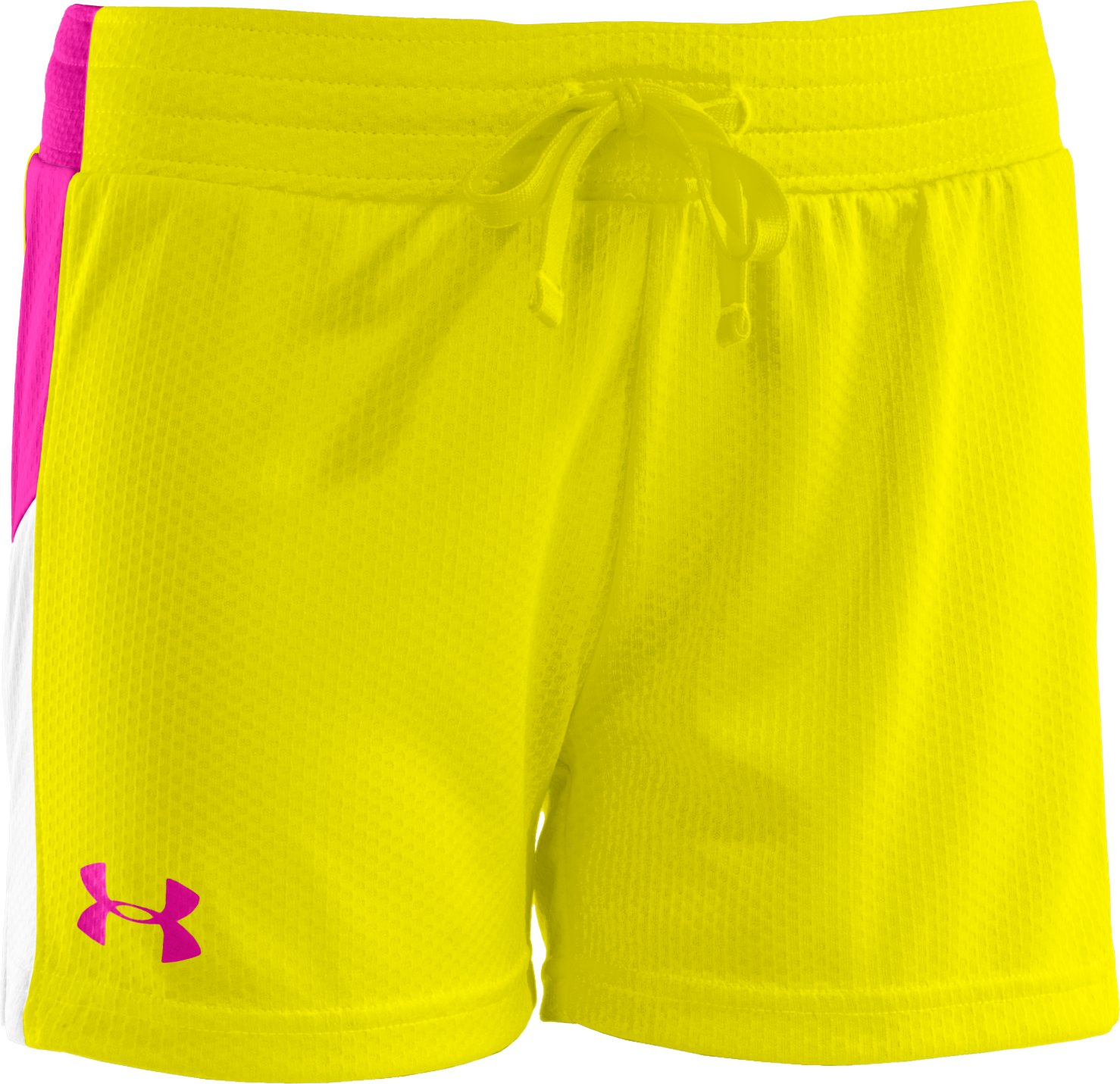 "Girls' UA Intensity 3"" Shorts, Sunbleached"