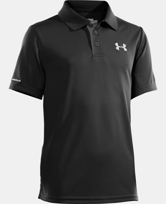 New Arrival  Boys' UA Match Play Polo LIMITED TIME: FREE SHIPPING 10 Colors $34.99