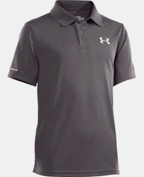 Boys' UA Match Play Polo  2 Colors $22.99