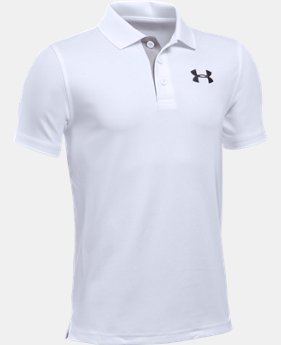 Boys' UA Match Play Polo LIMITED TIME: FREE SHIPPING  $34.99
