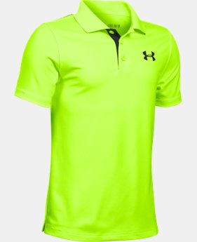Boys' UA Match Play Polo LIMITED TIME: FREE SHIPPING 3 Colors $34.99