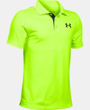 Boys' UA Match Play Polo LIMITED TIME: FREE U.S. SHIPPING 2 Colors $22.99 to $29.99