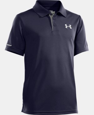 Boys' UA Match Play Polo LIMITED TIME: FREE U.S. SHIPPING 1 Color $29.99
