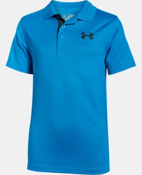 Boys' UA Match Play Polo LIMITED TIME: FREE SHIPPING 14 Colors $34.99
