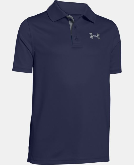 Boys' UA Match Play Polo LIMITED TIME: FREE U.S. SHIPPING 1 Color $17.99 to $29.99