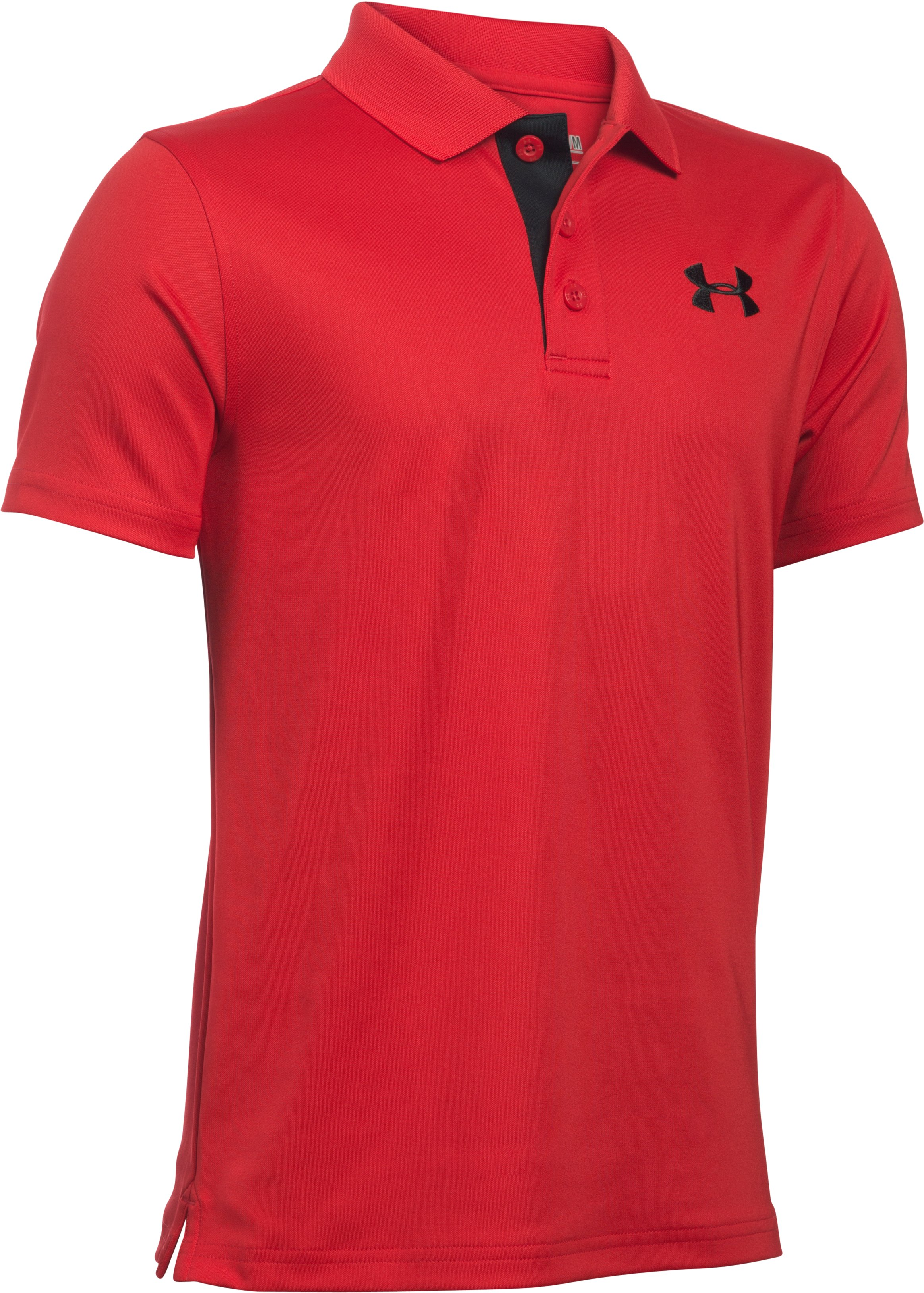 Boys' UA Match Play Polo, Red, undefined