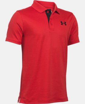 Boys' UA Match Play Polo LIMITED TIME: FREE U.S. SHIPPING 3 Colors $22.99 to $29.99