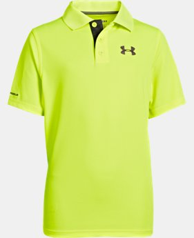 Boys' UA Match Play Polo LIMITED TIME: FREE U.S. SHIPPING 2 Colors $17.99 to $29.99