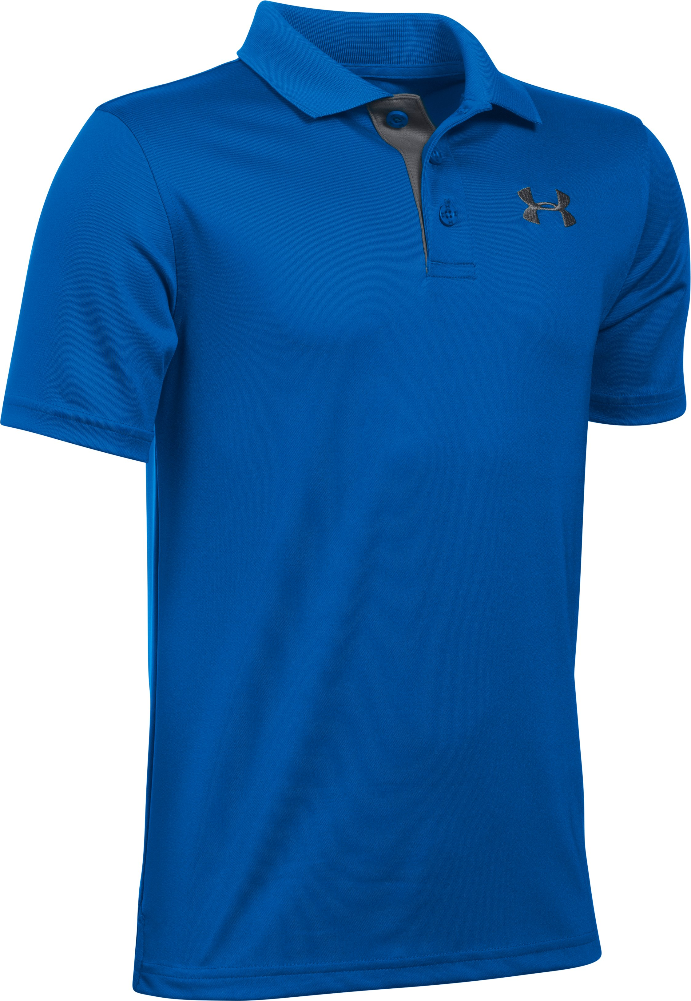 Boys' UA Match Play Polo, ULTRA BLUE,