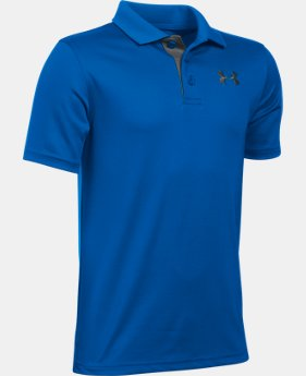 Best Seller Boys' UA Match Play Polo  2 Colors $29.99