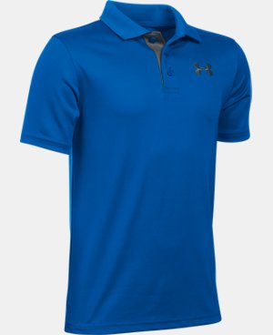Boys' UA Match Play Polo LIMITED TIME: FREE U.S. SHIPPING 11 Colors $17.99 to $29.99