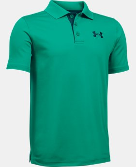 Boys' UA Match Play Polo LIMITED TIME: FREE U.S. SHIPPING 1 Color $17.24 to $22.99