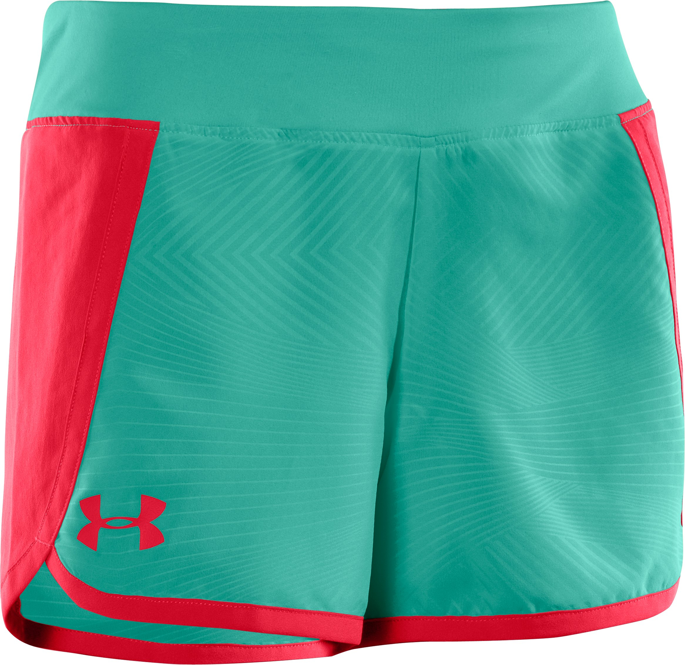 "Girls' UA Ripping 3"" Shorts, REFLECTION"