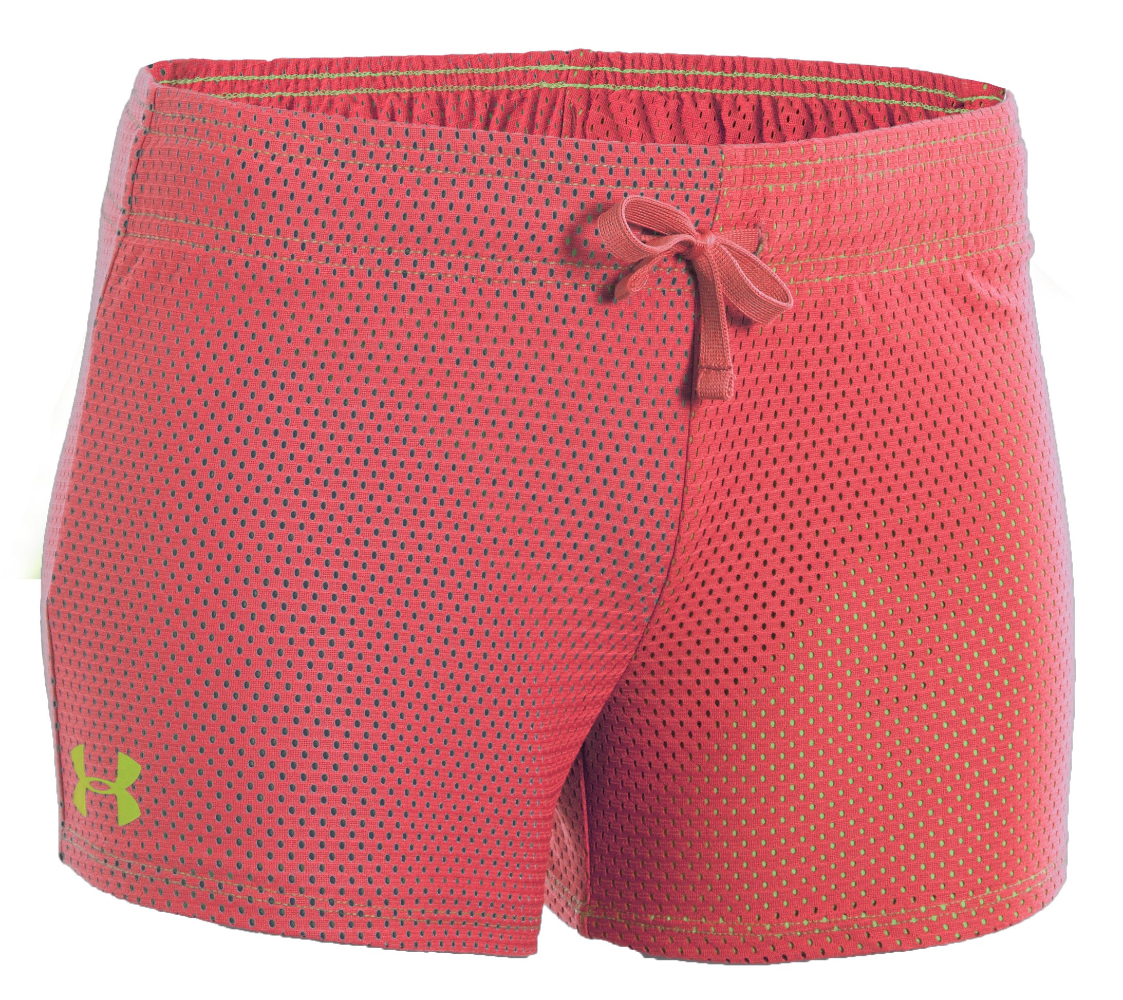 "Girls' UA Razzle 3"" Shorts, Power, zoomed image"