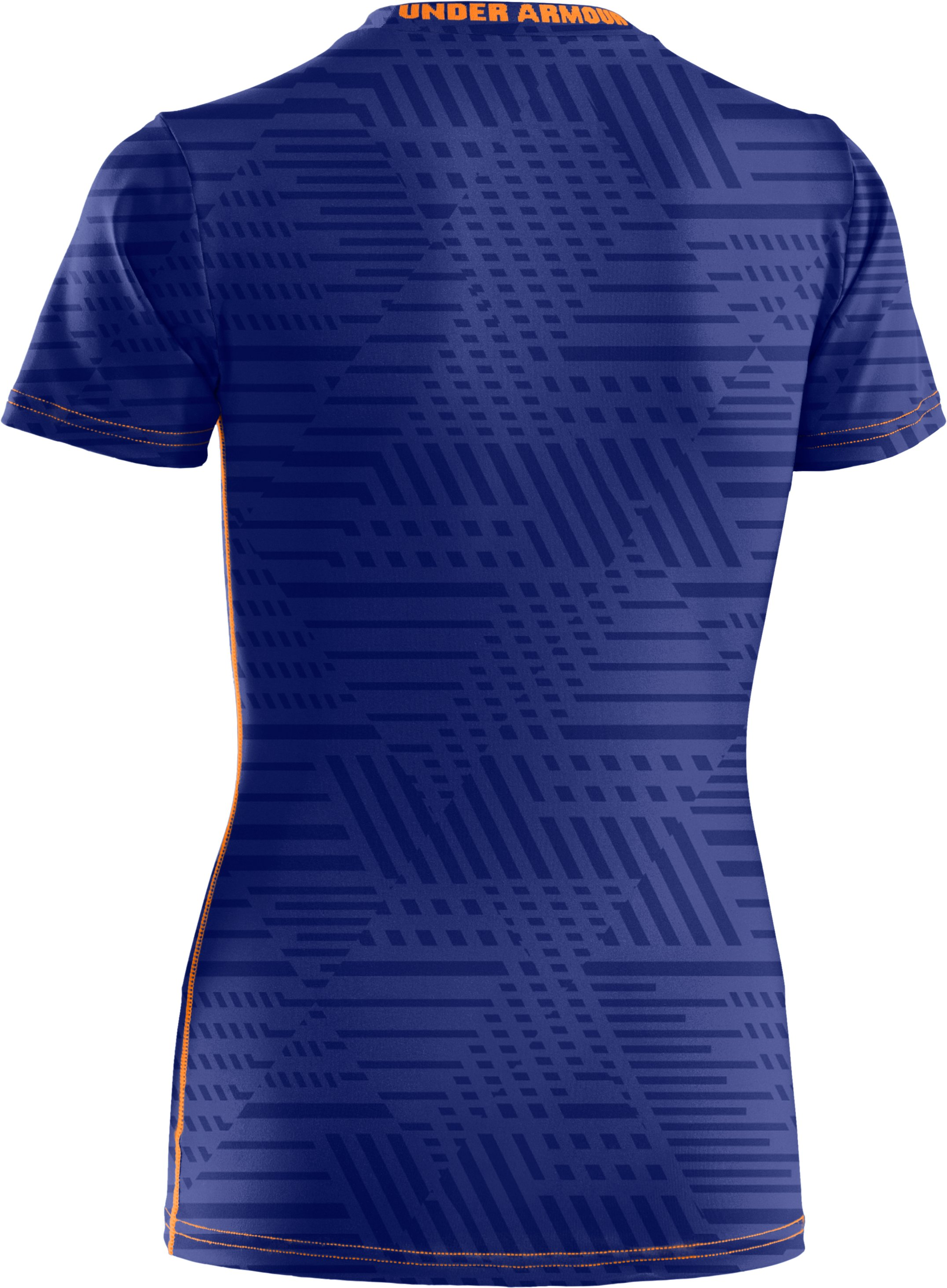 Boys' UA HeatGear® Sonic Fitted Short Sleeve, Royal