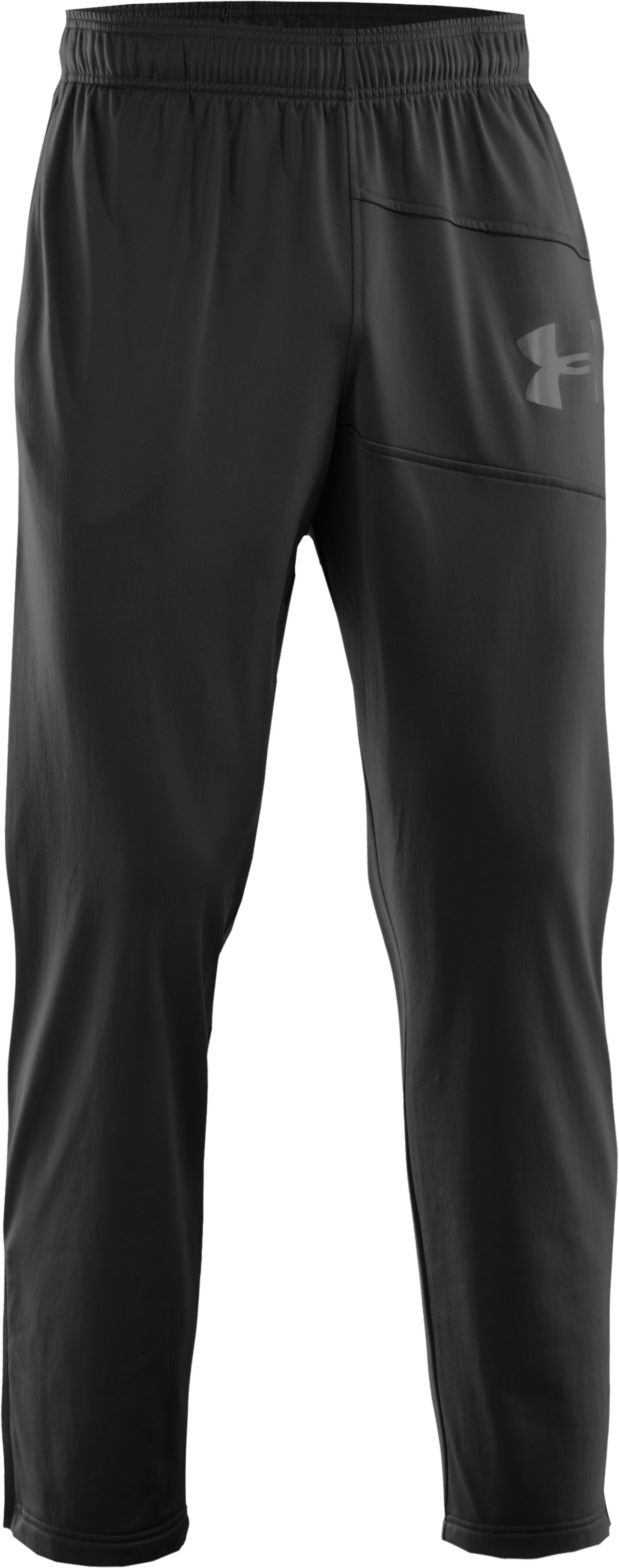 Men's UA Deuces Warm-Up Pants, Black ,