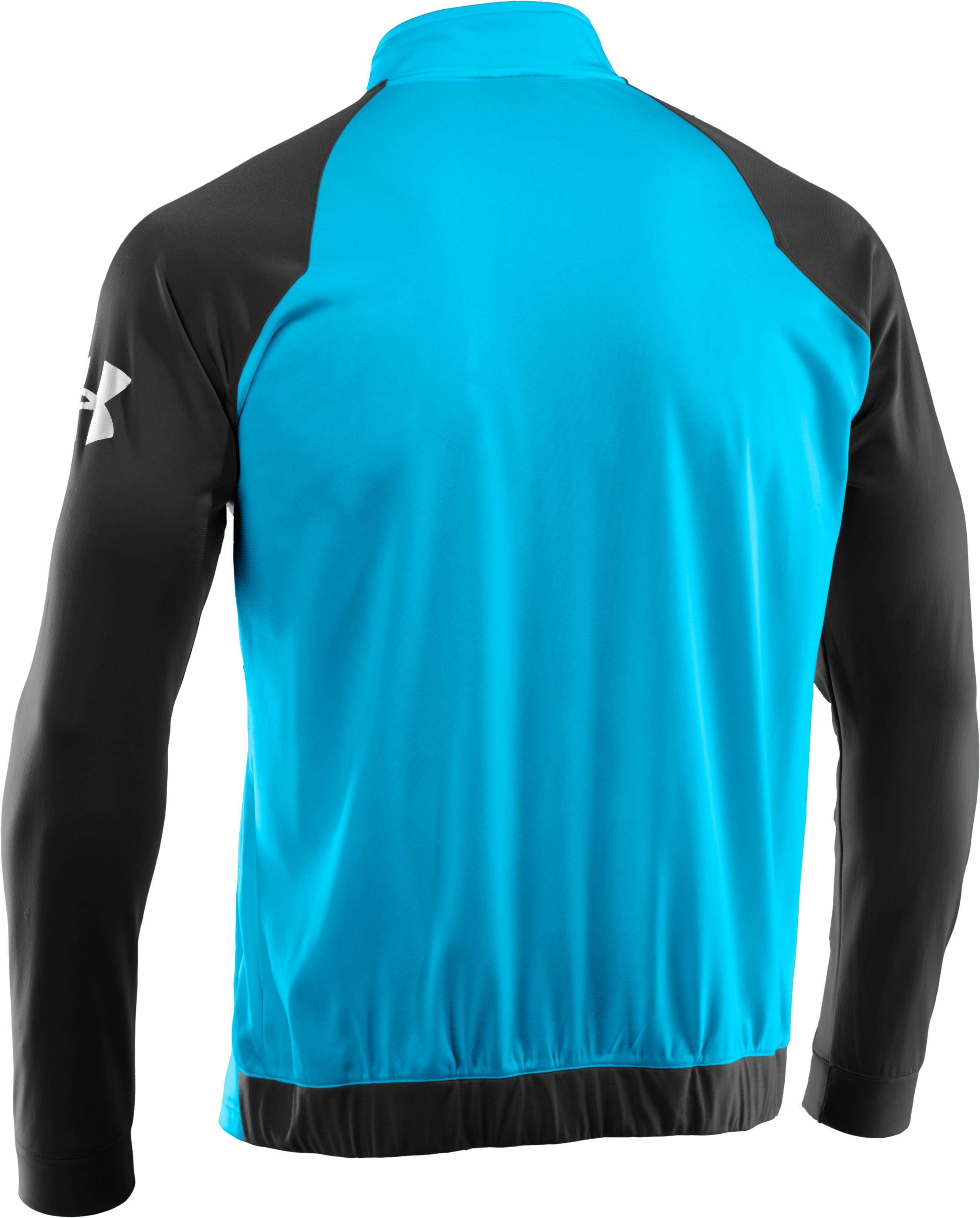 Men's UA Deuces Warm-Up Jacket, SNORKEL, undefined