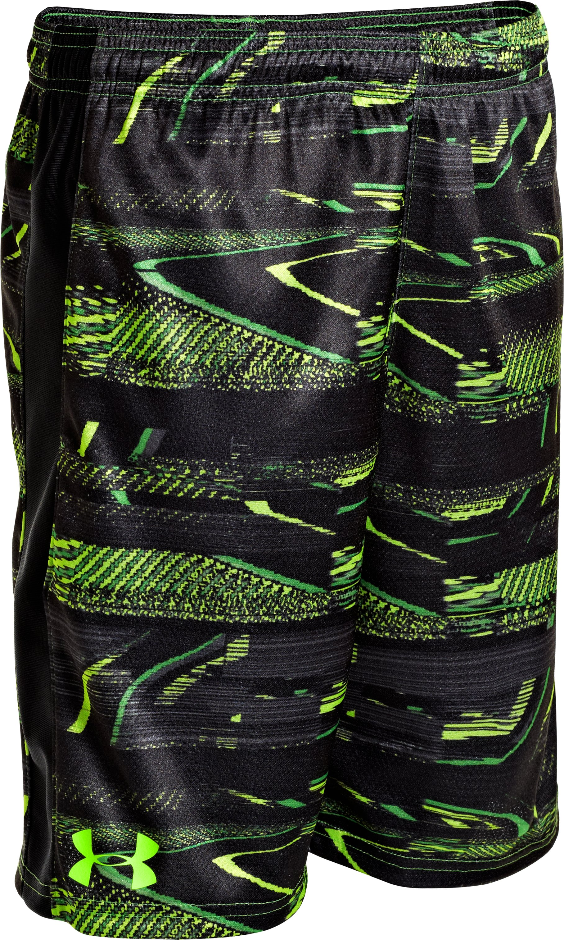 "Boys' UA Ultimate Printed 9"" Shorts, Lizard, zoomed image"