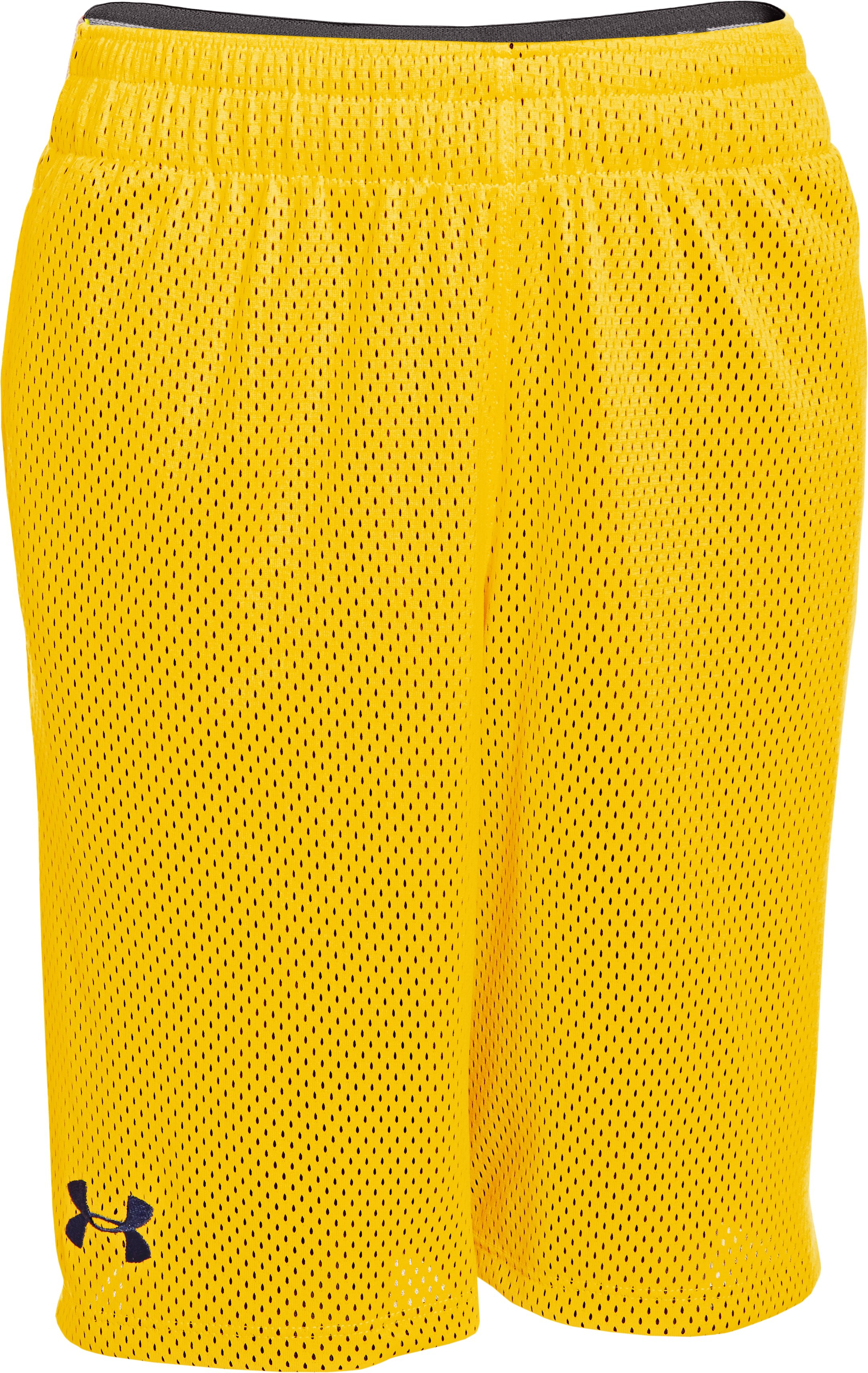 "Boys' UA Renegade 9"" Shorts, School Bus"
