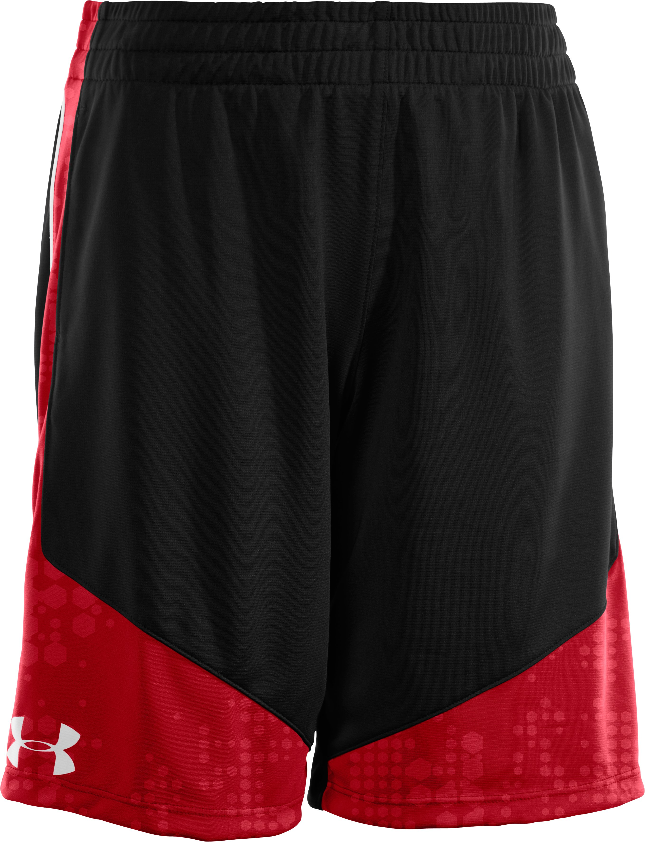 "Boys' UA Flare II 9"" Shorts, Black , zoomed image"