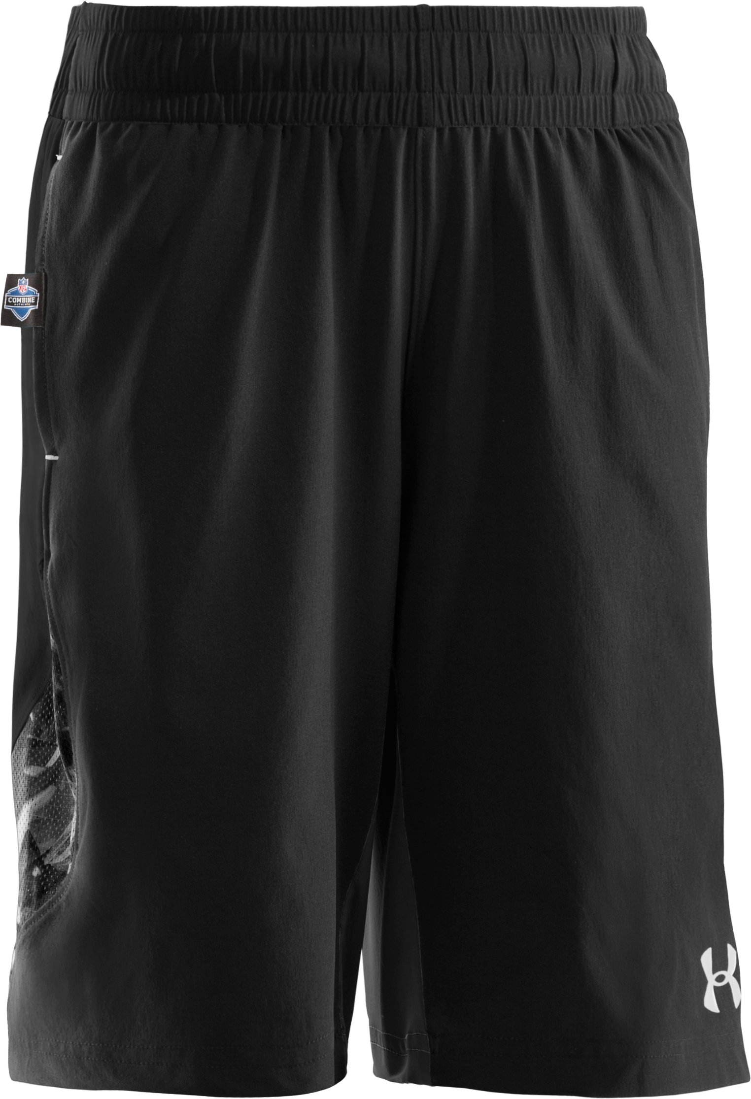 Boys' NFL Combine Authentic Shorts, Black