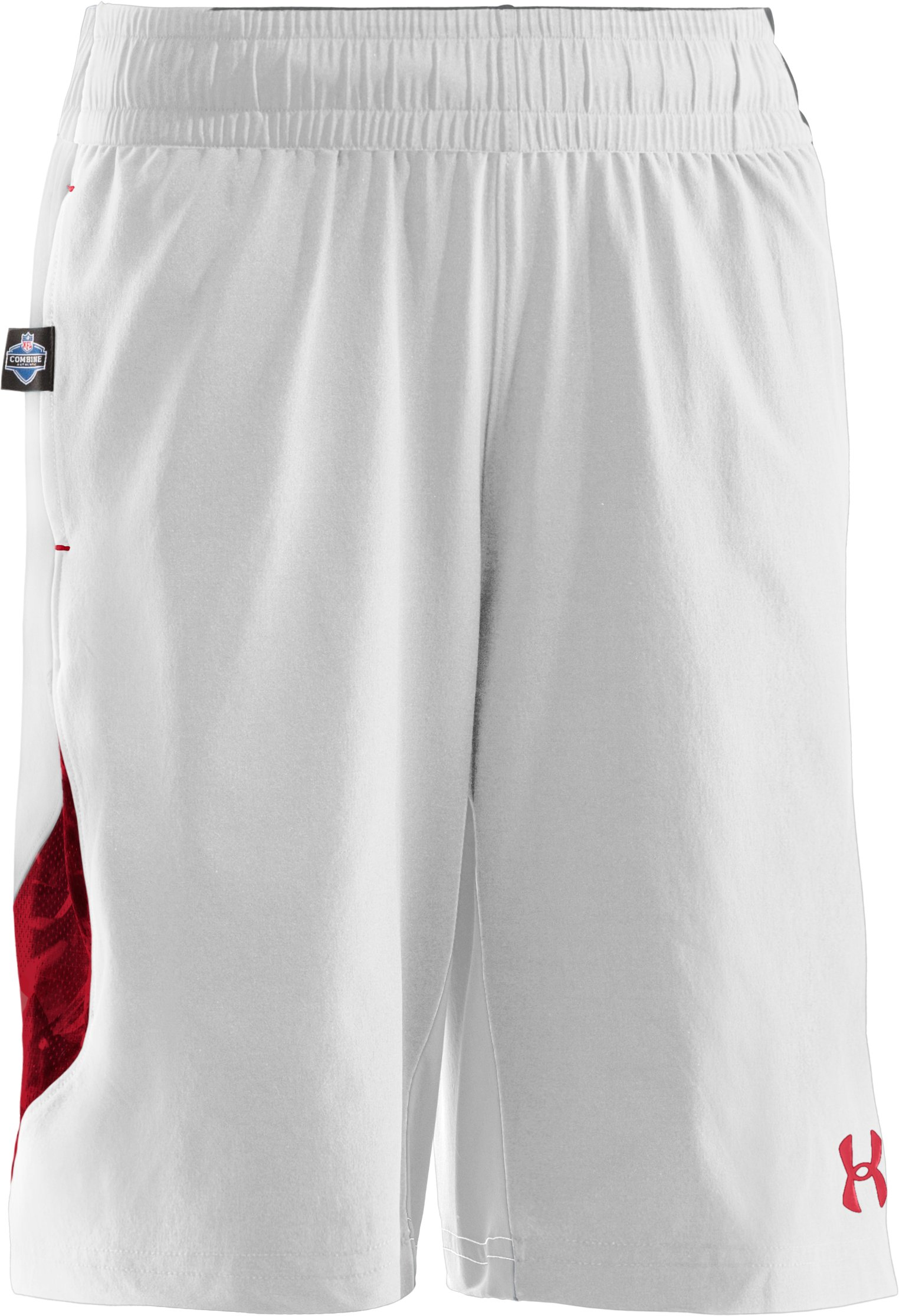 Boys' NFL Combine Authentic Shorts, White, zoomed image