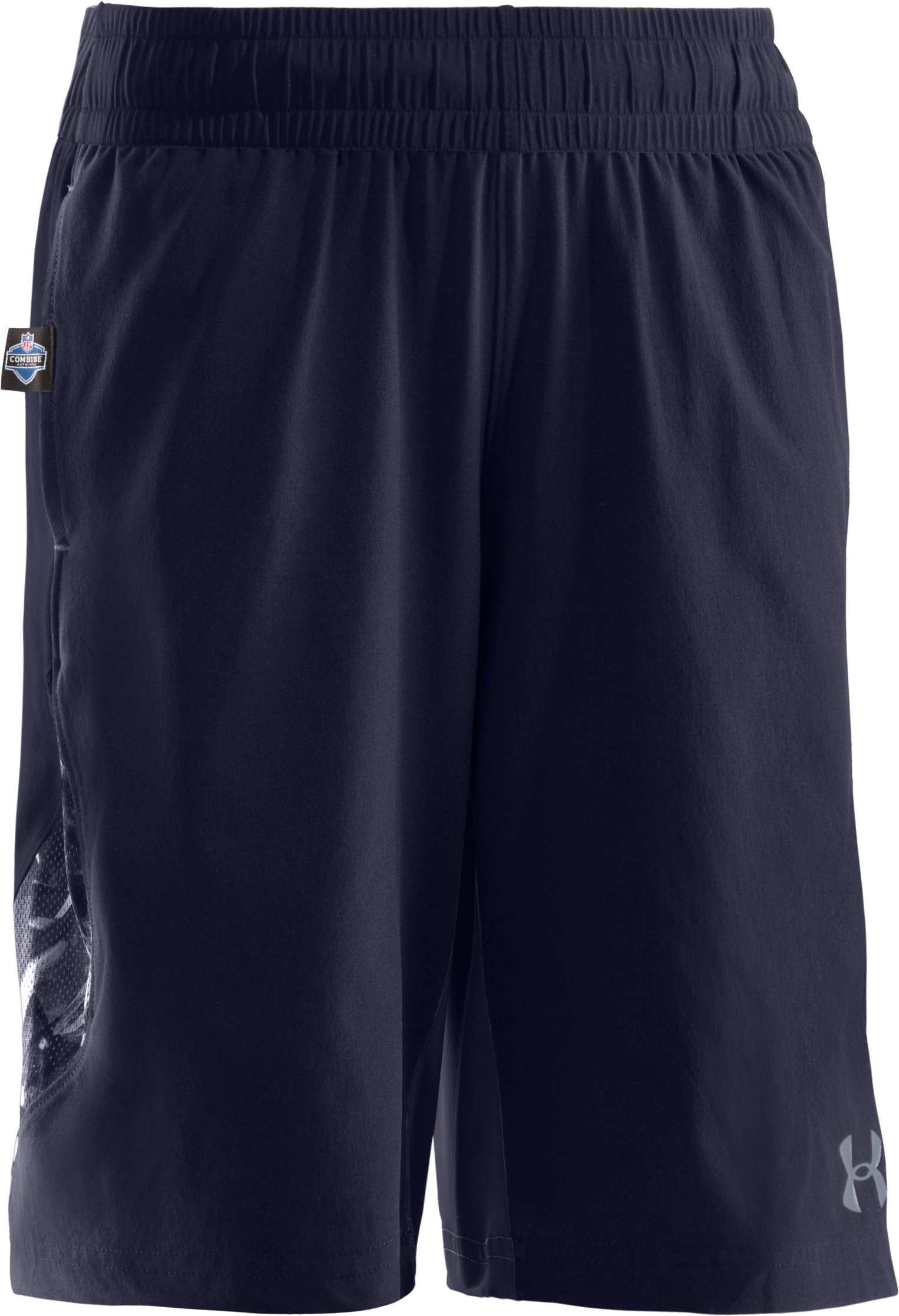 Boys' NFL Combine Authentic Shorts, Midnight Navy, zoomed image