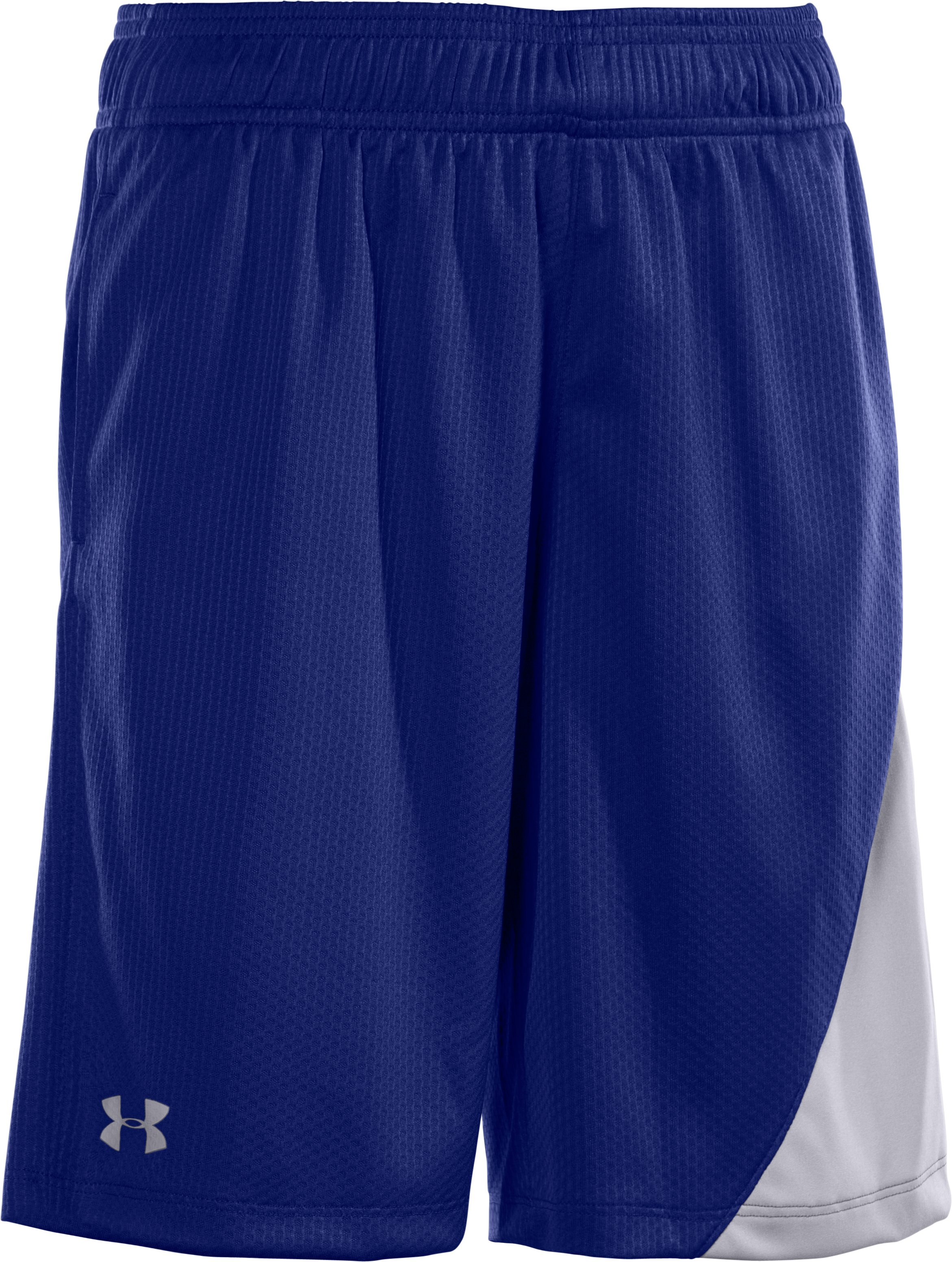 Boys' UA Influencer Training Shorts, Royal