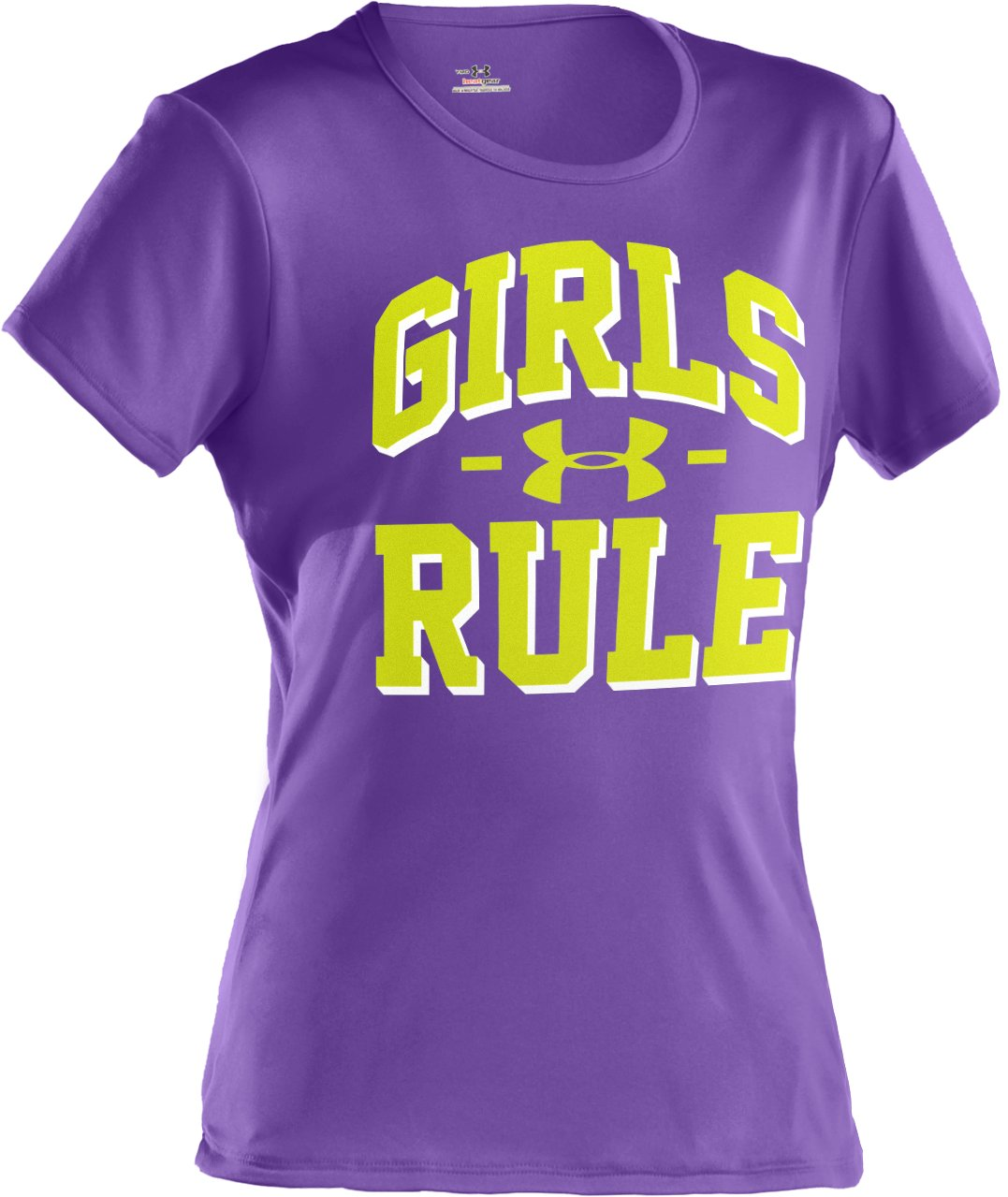 UA Girls Rule Graphic T-Shirt, LAVISH